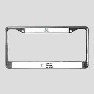 SASZ GIRL License Plate Frame