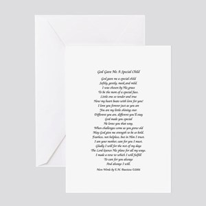 God Gave Me...Greeting Card