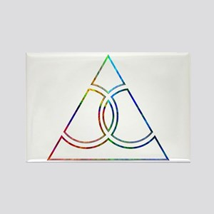 Gay Marriage Triangle Rectangle Magnet