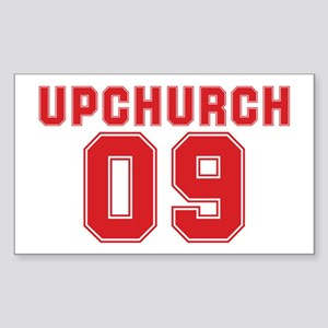 UPCHURCH 09 Rectangle Sticker
