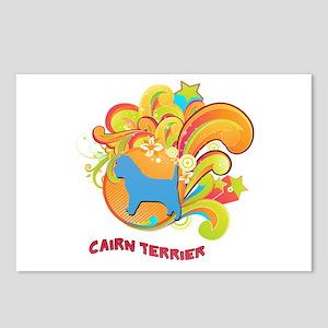 Groovy Cairn Terrier Postcards (Package of 8)
