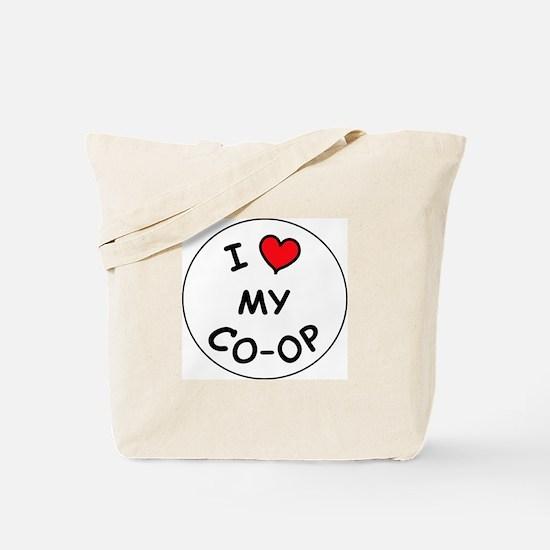 I <3 my coop Tote Bag