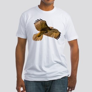 Red-Tailed Hawk Fitted T-Shirt