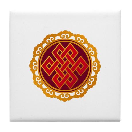 Endless / Eternal Knot Tile Coaster