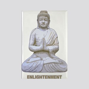 Buddha Buddhism Enlightenment Rectangle Magnet