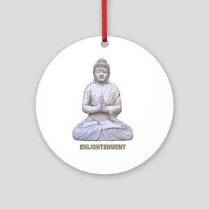 Buddha Buddhism Enlightenment Ornament (Round)