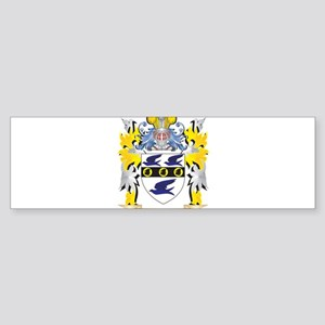 Jirak Coat of Arms - Family Crest Bumper Sticker