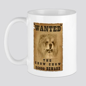 """Wanted"" Chow Chow Mug"