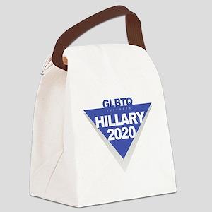 Hillary 2020 Canvas Lunch Bag