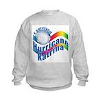 I SURVIVED HURRICANE KATRINA Kids Sweatshirt
