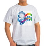 I SURVIVED HURRICANE KATRINA Ash Grey T-Shirt