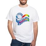 I SURVIVED HURRICANE KATRINA White T-Shirt