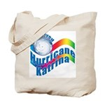 I SURVIVED HURRICANE KATRINA Tote Bag