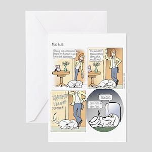 """Mac & Jill """"Tattle Tail"""" Card"""
