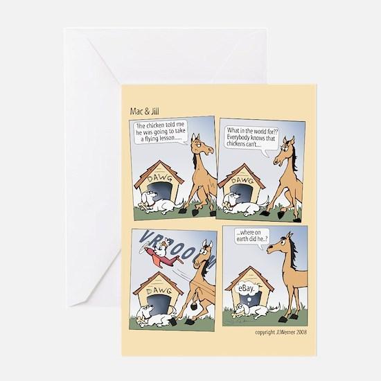 "Mac & Jill ""Flying Lesson"" Card"