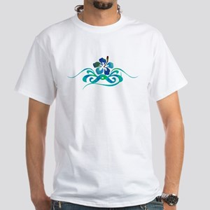 Ocean Blues Hibiscus, T-Shirt