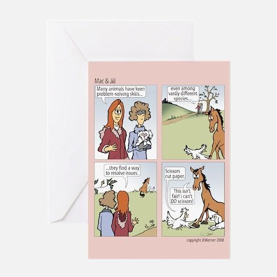 "Mac&Jill ""Rock Paper Scissors"" Card"