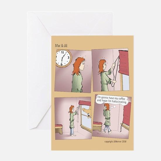 "Mac & Jill ""Hallucination"" Card"
