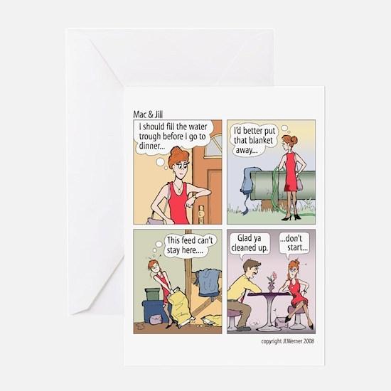 """Mac & Jill """"Cleaned up"""" Card"""