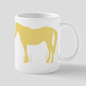 Horse Kisses Silhouette Mug