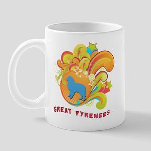 Groovy Great Pyrenees Mug