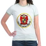 USS BUCHANAN Jr. Ringer T-Shirt