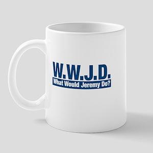 WWJD What Would Jeremy Do? Mug