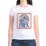 USS BUCK Jr. Ringer T-Shirt