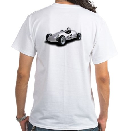 Formcar Picture White T-Shirt