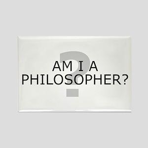 Am I A Philosopher? Rectangle Magnet