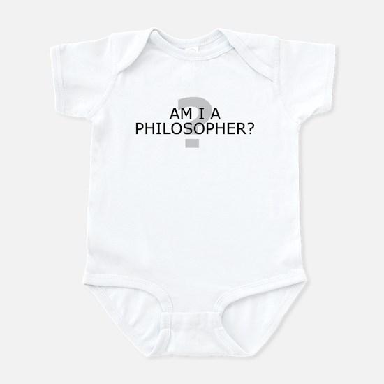 Am I A Philosopher? Infant Bodysuit