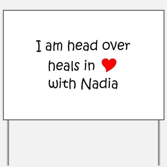 Nadia Yard Sign
