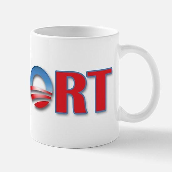 Abort Obama Mug