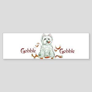 Westhighland Turkey Terrier Bumper Sticker