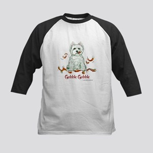 Westhighland Turkey Terrier Kids Baseball Jersey
