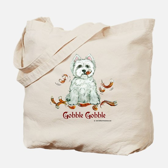 Westhighland Turkey Terrier Tote Bag