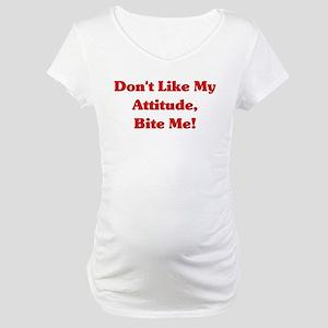 Bite Me Maternity T-Shirt