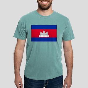 Flag of Cambodia Mens Comfort Colors® Shirt