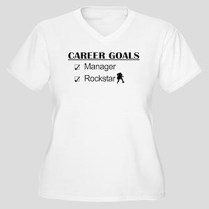Manager Career Goals - Rockstar Women's Plus Size