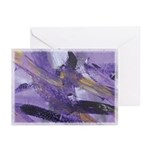 Purple Madness Art Greeting Cards (Pk of 10)