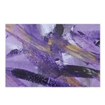 Purple Madness Art Postcards (Package of 8)