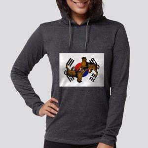 Korean Tigers Womens Hooded Shirt