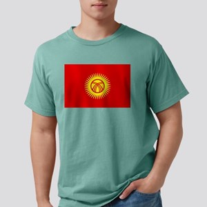 Flag of Kyrgyzstan Mens Comfort Colors® Shirt