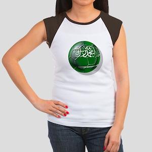 Saudi Arabia Soccer Junior's Cap Sleeve T-Shirt