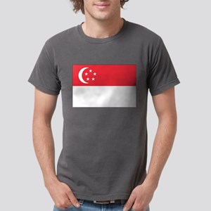 Flag of Singapore Mens Comfort Colors® Shirt