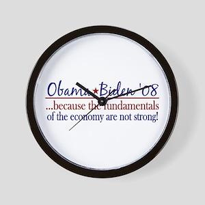 Obama Economy (Anti-McCain) Wall Clock