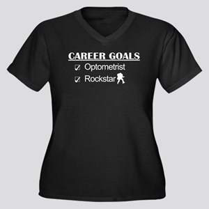 Optometrist Career Goals - Rockstar Women's Plus S