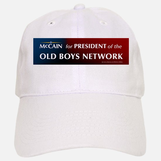 McCain for President of his old boys club Baseball Baseball Cap