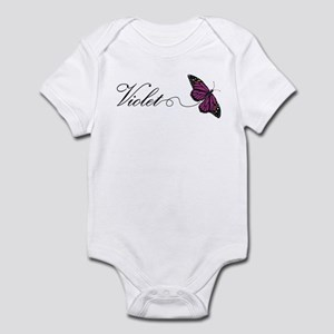 Violet gifts cafepress violet infant bodysuit negle