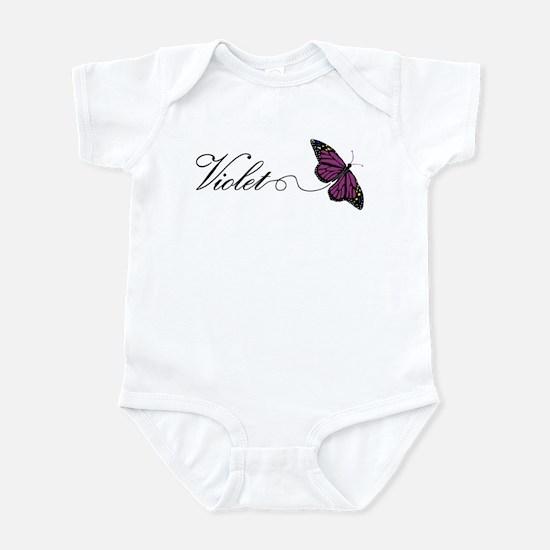 Violet Infant Bodysuit